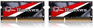 16GB G.Skill Ripjaws DDR3 1600MHz SO-DIMM 笔记本电脑内存双通道套件 (2x 8GB) CL9