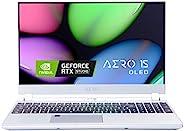 [2020] Gigabyte 技嘉 AERO 15S OLED KB 薄型 + 轻便高性能笔记本电脑,15.6 英寸 4K UHD OLED 显示屏,* DCI-P3,GeForce RTX 2060,i7-10875