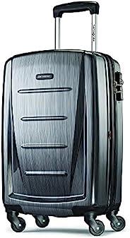 "Samsonite 新秀丽 Winfield 可扩展行李箱,24 \""(约0.61米),木炭色,Carry-on"