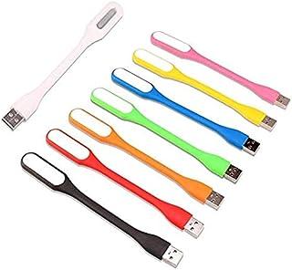 灵活迷你 USB LED 灯适用于笔记本电脑、键盘、移动电源、便携式夜灯或阅读灯(8 件装)