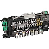 Wera 056490 Tool-Check Plus Bit 棘輪套裝 帶插座 - 公制