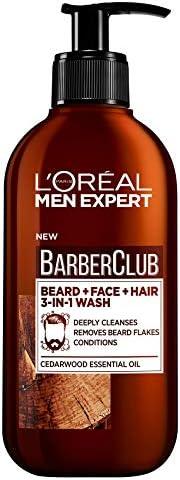 L'Oreal Paris 巴黎欧莱雅 Men Expert 胡须洗发水 胡须、脸部、秀发洗护三合一,2