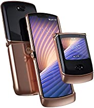 Motorola Razr 5G | 解锁 | 摩托罗拉 | 8/256GB | 48MP 相机 | 2020 | Blush Gold