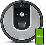 iRobot Roomba 971 强吸力扫地机器人 3档清洁系统 空间映射,两个通用型地板刷,兼容Imprint Link技术,适用于有宠物的家庭