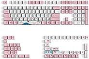 Akko World Tour Tokyo R2 162 键 OEM 规格 85% 染色副 PBT 全键帽套装 适用于带日本平假名的机械键盘