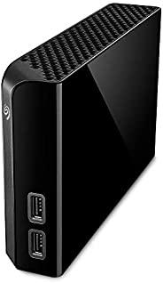 SEAGATE 希捷 Backup Plus Hub 14TB 外置硬盘 桌面硬盘 - USB 3.0,2 个 USB 端口,适用于计算机、台式电脑、电脑、笔记本电脑、Mac、4个月Adobe Creative 云摄影计