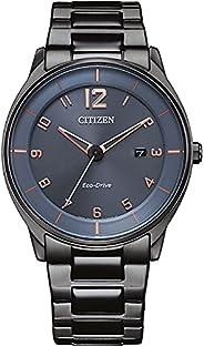 Citizen 西铁城 男式模拟光动能手表不锈钢表带 BM7408-88H