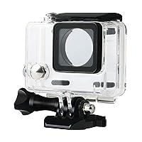 Ksmiley 防水保护套保护套适用于 GoPro Hero 4、Hero 3 + 、Hero3 室外运动相机水下摄影 - 防水深度达 147 英尺(45 米)