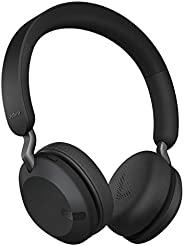 Jabra 捷波朗 Elite 45h,钛黑 – 头戴式无线耳机,电池寿命长达 50 小时,高级40 毫米扬声器,小巧、可折叠和轻质设计