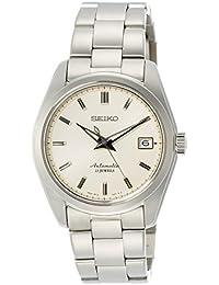 Seiko 精工  男士 Herald 日本自动不锈钢休闲表,颜色:银色(型号: sarb035)