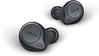 Jabra 捷波朗 Elite Active 75t True无线立体声入耳式运动耳机(蓝牙5.0,28小时 电池续航时间,带充电盒,语音控制,适用于Alexa、Siri和Google Assistant)深灰色75t One