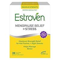 Estroven Maximum Strength+Energy 更年期減輕不適膳食補充劑 28片