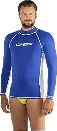 Cressi 男式*服男士長袖 Sl 防護運動衫,特殊彈性面料,防紫外線(UPF) 50+