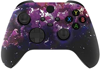 Soft Touch Surreal Lava UN-MODDED Controller Compatible with Xbox One Series X Custom Unique Design (3.5 mm Jack)