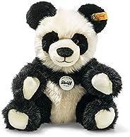 Steiff 60021 熊猫 - 24 厘米 - 儿童毛绒玩具 - 舒适 & 可水洗 - 黑色/白色(060