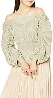 [snidel] 背带露肩女式衬衫 SWFB201100 女款