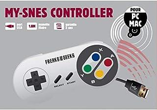 Nintendo 任天堂 Freeks and Greeks USB控制器 Super Nintendo,可在您的计算机和MAC上游戏(电子游戏/任天堂3DS)