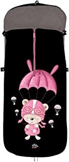 通用婴儿车脚套,型号:Paracaidist 粉色