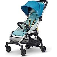 Quinny 1312771000 LDN 嬰兒車,適合6個月至約3.5歲(0-15千克),單手折疊,超緊湊設計,灰色扭轉,灰色