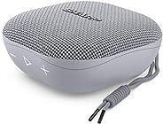 Sharp 夏普 GX-BT60 (GR) 便携式蓝牙扬声器,20 小时播放时间 / 防尘防溅 / 麦克风适用于电话、Google & Siri