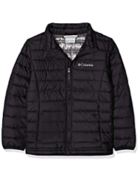 Columbia 男孩棉布精简保暖夹克