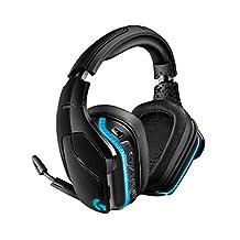 游戲耳機 G933s 羅技 Logicool PS4/PC/Xbox/Switch/智能手機 無線 7.1ch 臨場感 降噪 RGB 合成皮革耳墊