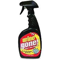 Urine Gone Stain & Odor Eliminator:专业强度 快速酸酶溶液,立即渗透和中化到地毯的纤维…