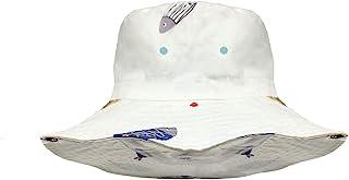 Acapeting 幼儿遮阳帽 * 纯棉 UPF 50+ * 婴儿可调节帽子 适合男孩和女孩