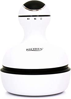 RIORES 头部按摩棒 防水 电动 HEAD SPA * 刷子 护理 护理 护理 护理 带1年保修 自家 浴室 男女通用