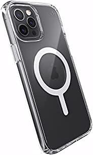 Speck Products Presidio 完美透明 + MagSafe iPhone 12 Pro Max 手机壳,透明/透明