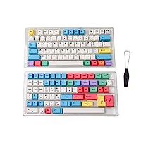 HK 游戏染料升华键帽   樱桃轮廓   机械键盘厚 PBT 键套装Hades68 139 Keys