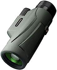 Zipforce 12x50 高清单筒望远镜 - 充氮 IPX7 防水单筒望远镜 - BAK4 棱镜 FMC 适用于野生动物鸟类/露营/观看狩猎/旅行/徒步旅行