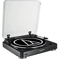 Audio Technica AT-LP60BK-BT Fully Automatic Bluetooth Wirele…