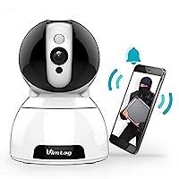 超 300 万像素全高清*摄像头 - 室内无线网络摄像头 - 人工智能检测 - 红外夜视 - 双向音频 - 360°平移/倾斜/缩放 - 适用于PC/iOS/Android的圆顶监控摄像头