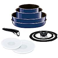 T-fal Grand Blue Premier 系列廚具 グランブルー フライパン 鍋 9點 セット