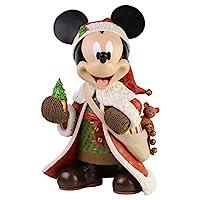Enesco Disney 陈列圣诞老人米老鼠大雕像,15 英寸,多色