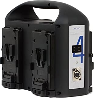 bebob 9050 VS4 4 通道V-Mount 充电器