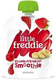 Little Freddie 草莓奶昔粉 12x90g