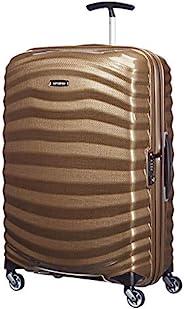 Samsonite 新秀麗 Lite-Shock 萬向輪拉桿箱,69 cm,棕