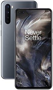OnePlus NORD (5G) 8GB RAM 128 GB 智能手机无协议,Quad 相机,Dual SIM,2 年质保 - 玛瑙灰色
