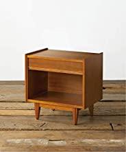 [美国标准] Akimoto Families(日本正品) 侧桌 照明台 棕色 窗帘 夜间支架 TRESTLES NIGHT STAND ACME Furniture