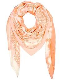 BOSS 女士 Natype 方形圍巾 帶紋理棉質 莫代爾