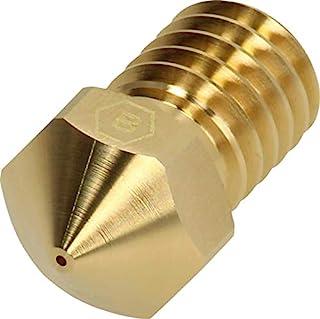 BROZZL E3D V6 1.75毫米喷嘴黄铜 0.2mm直径适用于E3D热点和Prusa i3