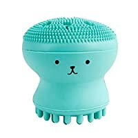 *工具创意水母洁面刷章鱼洗刷清洁工具女士美观工具