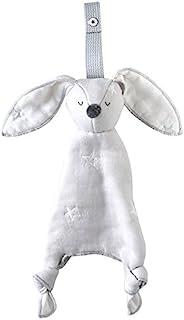 [10mois] 蓬松纱布(6层纱布) 安心毛毯 棉* 银色 兔子