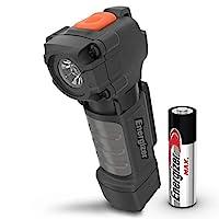 PDP BY DW Energizer 口袋尺寸 LED 手电筒,IPX4 防水,抗冲击小手电筒,非常耐用,夹扣式灯,包含 1 节 AA 电池