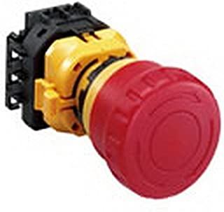 IDEC 紧急停止用按钮开关 XW系列 φ22 照光式 大形按钮 1b1a 螺纹端子形 IP20 XW1E-LV411Q4MFR