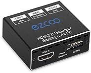 HDMI 2.0 音频提取器 4K 60Hz 4:4:4 HDR D-o-l-b-y Vision 18Gbps - SPDIF 光学 5.1CH+3.5 毫米立体声音频突接,CEC,D-o-l-b-y 数字音频解码器,