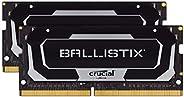Crucial 美光 Ballistix BL2K8G26C16S4B 2666 MHz DDR4 DRAM, 笔记本电脑游戏内存套装 16GB (8GBx2) CL16