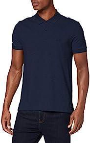 BOSS 男士 Piro 常规版型马球衫 Pima-Cotton 混纺